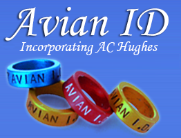 Avian ID incorporating AC Hughes official banner